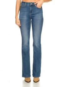 Liu Jo |  Flared jeans Rosa | blue  | Picture 4