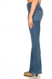 Liu Jo |  Flared jeans Rosa | blue  | Picture 5