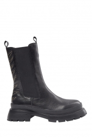Sofie Schnoor |  Leather studded chelsea boots Millie | black  | Picture 1