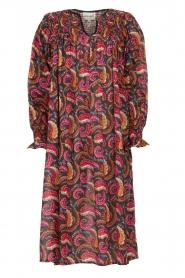 Antik Batik |  Cotton midi dress with print Piotr | multi  | Picture 1