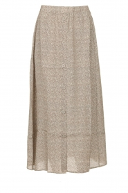 Knit-ted |  Midi skirt Sandra | natural  | Picture 1