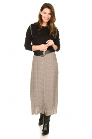 Knit-ted |  Midi skirt Sandra | natural  | Picture 4
