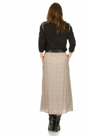 Knit-ted |  Midi skirt Sandra | natural  | Picture 6