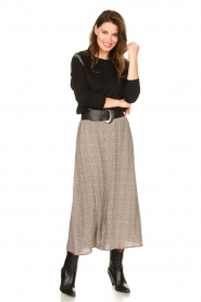 Knit-ted |  Midi skirt Sandra | natural  | Picture 2