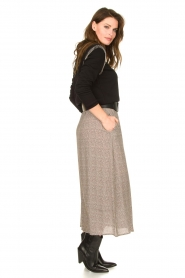 Knit-ted |  Midi skirt Sandra | natural  | Picture 5