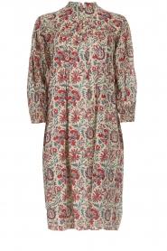 Antik Batik |  Printed cotton dress Betsie | multi  | Picture 1
