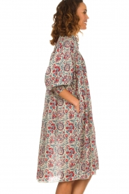 Antik Batik |  Printed cotton dress Betsie | multi  | Picture 5