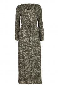 Knit-ted | Dress with print Pixie | green  | Picture 1