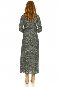 Knit-ted |  Maxi dress with print Pixie | green  | Picture 6