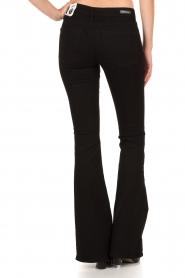 Denham | High waisted flared jeans Farrah lengtemaat 34 | zwart  | Afbeelding 5