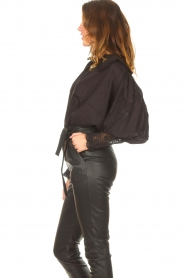 Antik Batik |  See-through blouse Aramis | black  | Picture 5