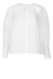 Antik Batik    See-through blouse Aramis   white    Picture 1