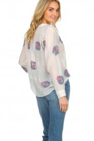 Antik Batik    Top with embroideries Ryma   white    Picture 5