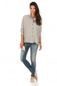 Denham | High waisted skinny jeans Spray Yiv lengtemaat 32 | blauw  | Afbeelding 3