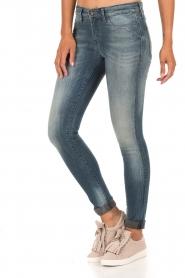 Denham | High waisted skinny jeans Spray Yiv lengtemaat 32 | blauw  | Afbeelding 4