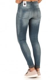 Denham | High waisted skinny jeans Spray Yiv lengtemaat 32 | blauw  | Afbeelding 5