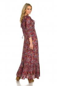 Antik Batik |  Dress with print Sam | red  | Picture 5