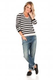 Denham | Cropped jeans Monroe Ava821 lengtemaat 30 | blauw  | Afbeelding 3