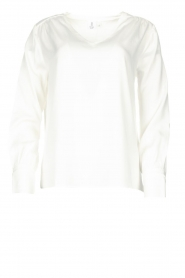 Knit-ted | Blouse Jennifer | white  | Picture 1
