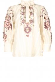 Antik Batik    Embroided cotton blouse Cami   natural     Picture 1