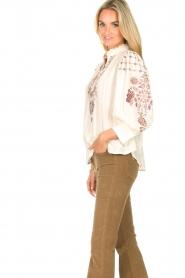 Antik Batik    Embroided cotton blouse Cami   natural     Picture 6