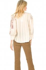 Antik Batik    Embroided cotton blouse Cami   natural     Picture 7