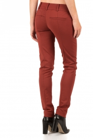 Trousers Izabelle | rust brown