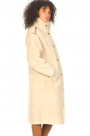 Antik Batik |  Teddy coat with embroided details Sable | brown  | Picture 7