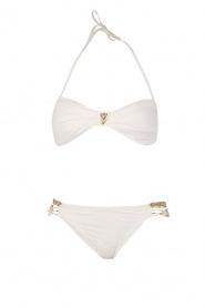 Hipanema | Bandeau bikini Uni | wit  | Afbeelding 1