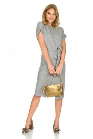 ba&sh | Overslag jurk Clare | Grijs  | Afbeelding 6