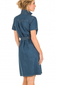 Set | Denim jurk Debby | blauw   | Afbeelding 5