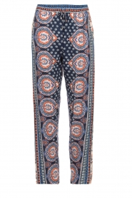 Hale Bob |  Printed wide leg pants Micci | blue  | Picture 1