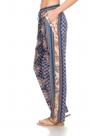 Hale Bob |  Printed wide leg pants Micci | blue  | Picture 4