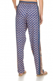 Hale Bob |  Printed wide leg pants Micci | blue  | Picture 5