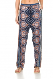 Hale Bob |  Printed wide leg pants Micci | blue  | Picture 2