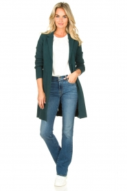 Knit-ted |  Blazer cardigan Sammie | green  | Picture 3