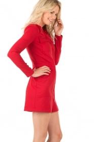 Patrizia Pepe | Jurk Lavinia | rood  | Afbeelding 4