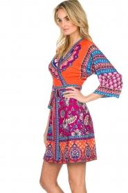 Hale Bob |  Printed wrap dress Fus | multi  | Picture 5