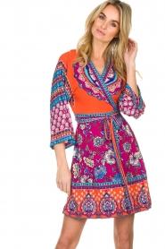 Hale Bob |  Printed wrap dress Fus | multi  | Picture 2