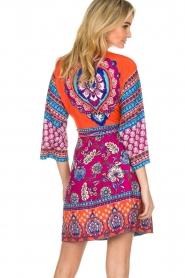 Hale Bob |  Printed wrap dress Fus | multi  | Picture 6