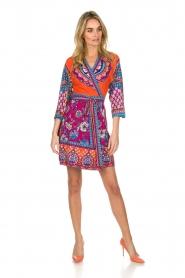 Hale Bob |  Printed wrap dress Fus | multi  | Picture 3