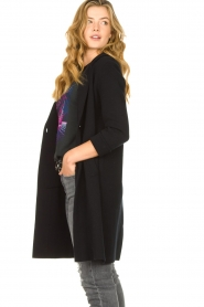 Knit-ted |  Blazer cardigan Sammie | black  | Picture 5