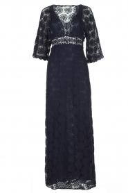 ba&sh | Kanten jurk Lorraine | Blauw  | Afbeelding 1
