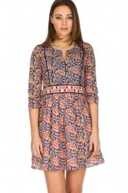 ba&sh   100% katoenen jurk Rius   blauw    Afbeelding 2