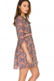ba&sh   100% katoenen jurk Rius   blauw    Afbeelding 4
