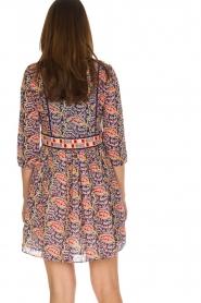 ba&sh   100% katoenen jurk Rius   blauw    Afbeelding 5