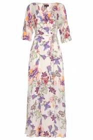 Hale Bob |  Maxi dress with floral print Lize | white  | Picture 1