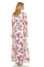Hale Bob |  Maxi dress with floral print Lize | white  | Picture 5