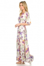 Hale Bob |  Maxi dress with floral print Lize | white  | Picture 4