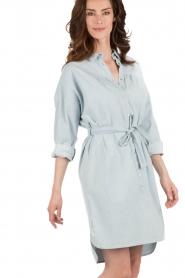 Set | Denim jurk Sissy | blauw  | Afbeelding 2